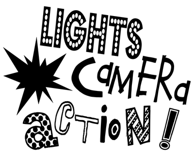 Image result for lights, camera, action